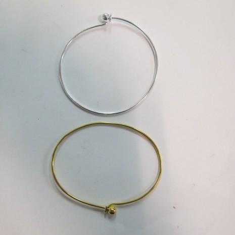 Bracelet boule à viser 65x50 mm