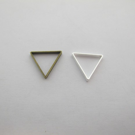 100 Intercalaires Triangle 17x15mm