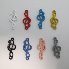30 Dividers music note 24x10mm