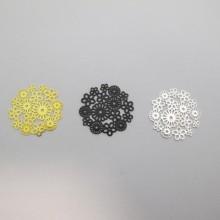 50 Estampes Fleurs Laser Cut 23mm