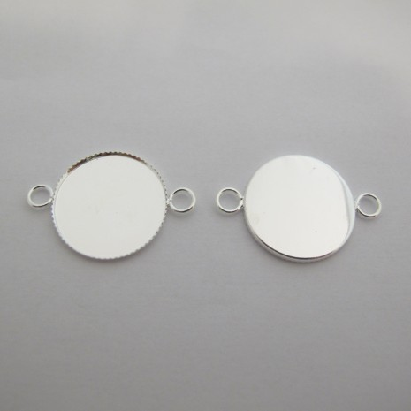 50 Support Intercalaire Cabochon 20MM