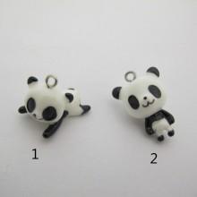50 Resin Panda Charms