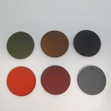 25 pendentif simili-cuir 28MM