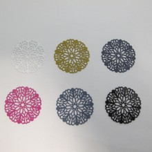 30 Estampes Rondes Laser Cut 30mm