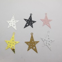 30 Star Stamps 32x22mm