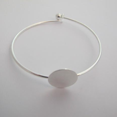 12 pieces Bracelet plateau 15mm