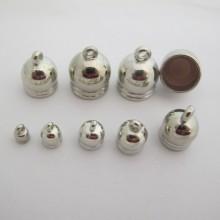 Glue-on end caps FOR CORD 4mm6mm8mm10mm12mm14mm15mm16mm