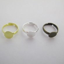 50 pieces Rings 8mm child size