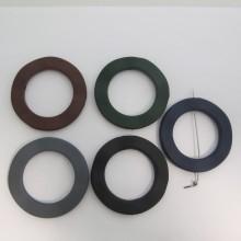 10 RONDE 62mm En Plastique Mat