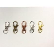 30 Fasteners carabiner key ring